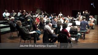 Beethoven 7 at rehearsal ( first mov.)