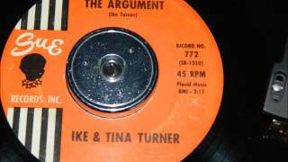 Watch Ike  Tina Turner The Argument video