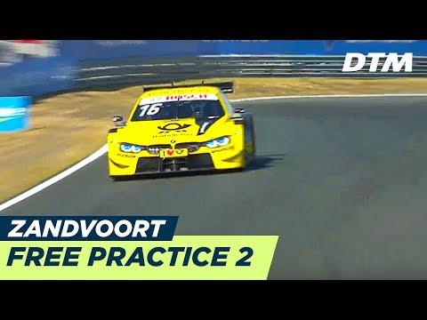 DTM Zandvoort 2018 - Free Practice 2 - RE-LIVE (German)