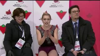 Alaine CHARTRAND Free Skate 2019 Canadian National Skating Championships