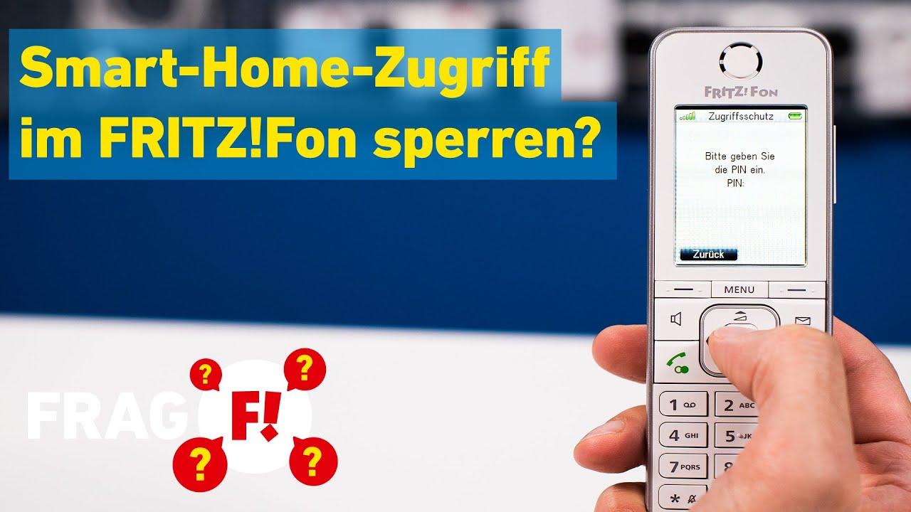 PIN-Sperre: Smart-Home-Funktionen für einzelne FRITZ!Fons sperren | Frag FRITZ! 014