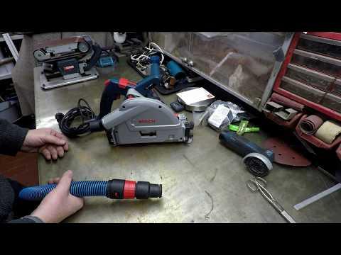 HowToDo - Bosch GKT 55 GCE Absaugadapter mit C35