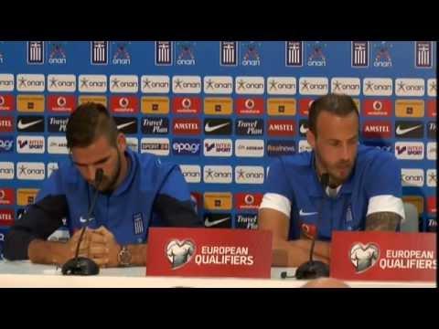 Συνέντευξη Τύπου Εθνικής Ανδρών | Greece National Team Press Conference 13-10-14