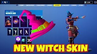 LEAKED NEW WITCH SKIN IN-GAME FORTNITE