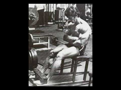 roman chair situps arnold wood kitchen table and chairs frank zane leg calves abs training youtube