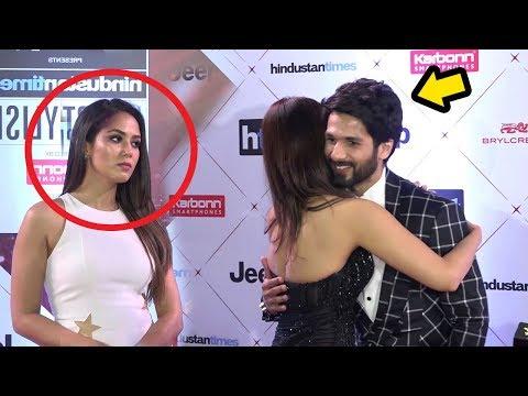 Shahid Kapoor's Wife Meera Rajput's JEALOUS Reaction When Shahid Hugs HOT Vani Kapoor