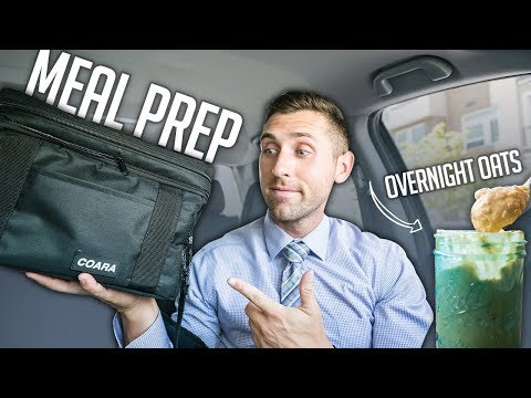MEAL PREP FOR PEOPLE ON THE GO  | No Microwave or Refrigerator Needed