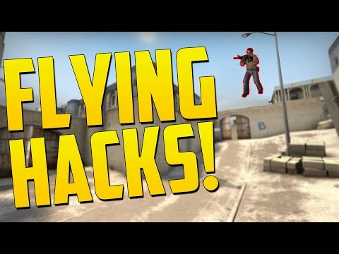 FLYING HACKER SCRIPTS - CS GO Funny Overwatch Moments