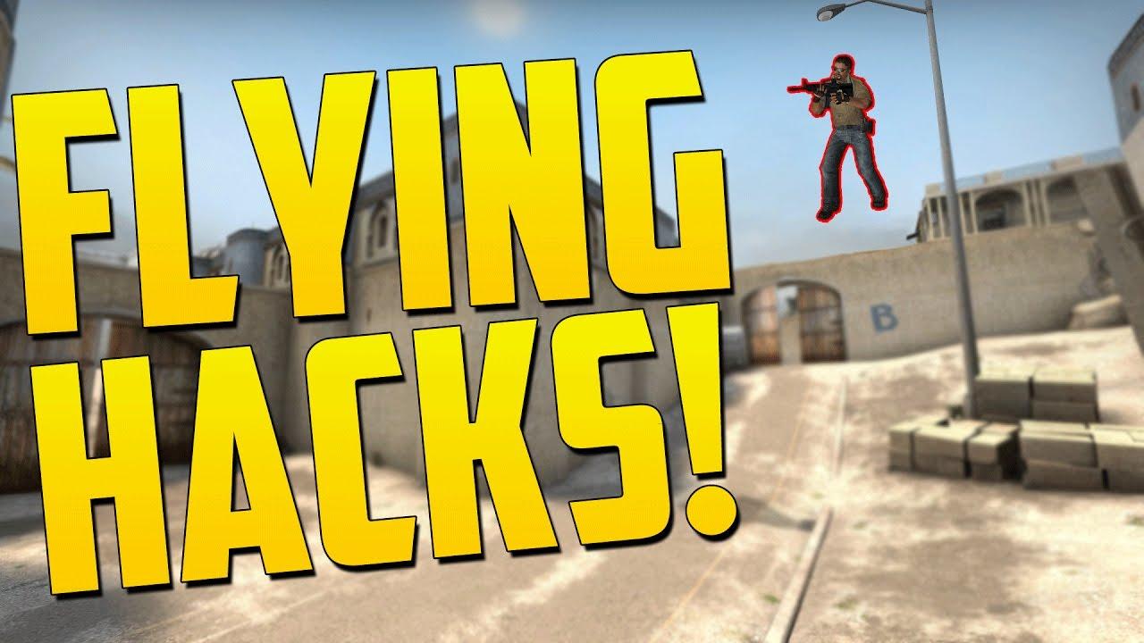 FLYING HACKER SCRIPTS - CS GO Funny Overwatch Moments - YouTube