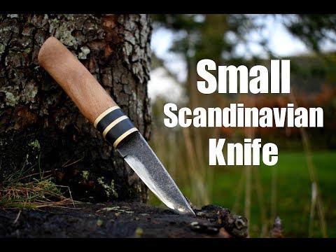Knife making - Small Forged Scandinavian Knife