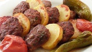 Fırında Köfte Patates Tarifi | Fırında Köfte Nasıl Yapılır