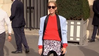 Baixar EXCLUSIVE : Celine Dion shopping at Repetto and Wolford in Paris