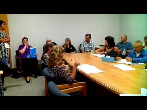 Lassen County Budget Meeting, August 23, 2016
