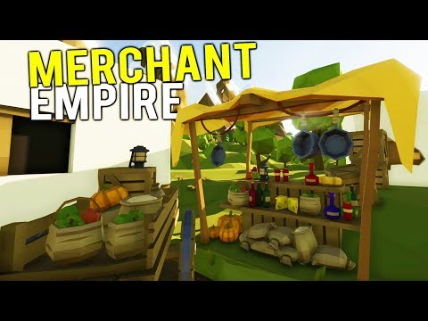 BUILDING THE WEALTHIEST MEDIEVAL MERCHANT EMPIRE! - Medieval Shopkeeper Simulator Gameplay