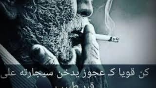 كن قوين ك عجوز يدخن سجارة على قبر طبيب اقوة حلات واتس اب مع النغمة