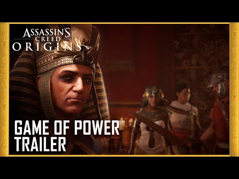 Assassin's Creed Origins: Gamescom 2017 Game of Power Trailer | Ubisoft [US]