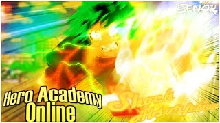 Roblox|Hero Academy Online [008] Alpha|Shock Absorption ShowCase