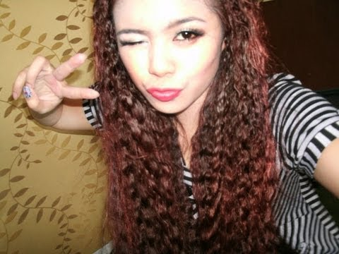 no heat crimped hair tutorial tyra banks fergie taeyeon inspired crimped hair youtube