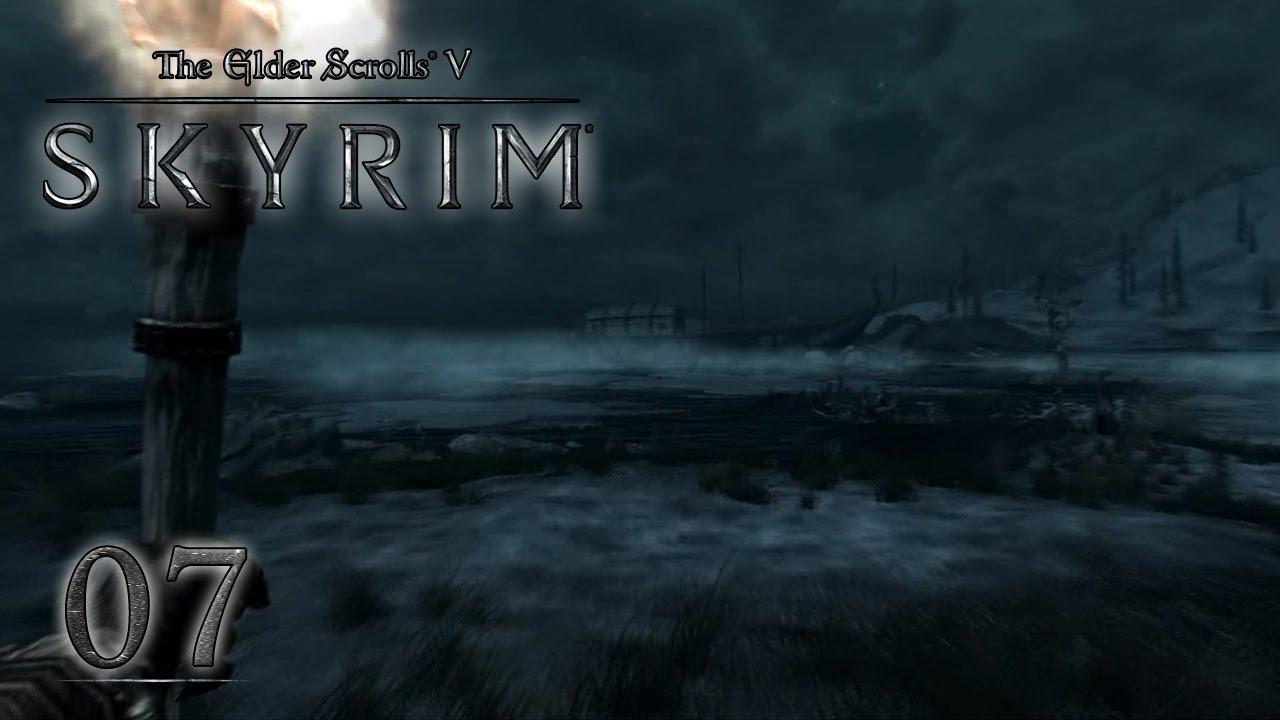 Lets Play Tes Skyrim Von Snakebite 07 Die Eisläufer Youtube