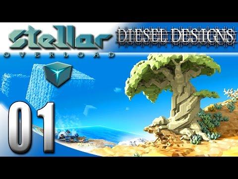 Stellar Overload Gameplay :EP1: Sandbox, FPS, Builder with Story Mode?!  Huh?! (HD PC Gameplay)