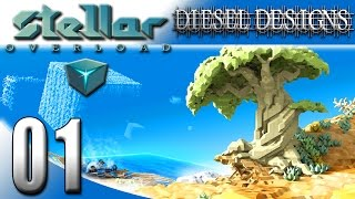 stellar Overload Gameplay :EP1: Sandbox, FPS, Builder with Story Mode?!  Huh?! (HD PC Gameplay)