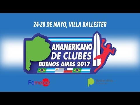 Torneo Panamericano de Clubes -  E. C. Pinheiros Vs Colegio Alemán