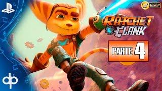 Ratchet and Clank PS4 Parte 4 Gameplay Español | Ciudad Rilgar - Campaña Completa 1080p