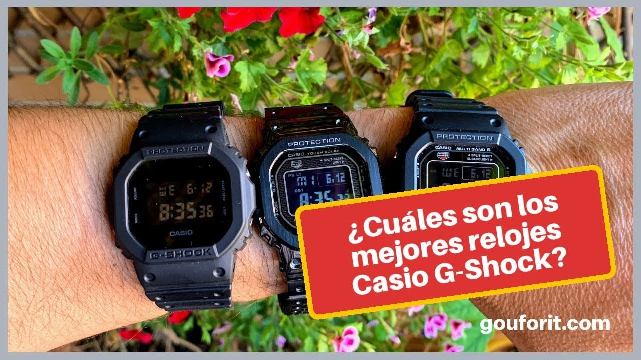Mejores Shock Relojes Casio En Los G 2019 354AqjLR