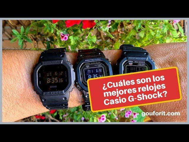7ca41080d Los Casio G-Shock son perfectos para llevar siempre puestos en actividades  al aire libre, para meter en el agua o para llevar a los trabajos más  exigentes ...