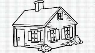 Simple Drawings Houses 1