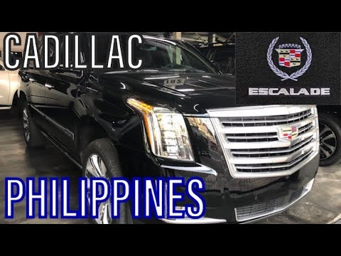 For Sale In The Philippines 2020 Cadillac Escalade Esv Platinum Long Wheel Base Youtube
