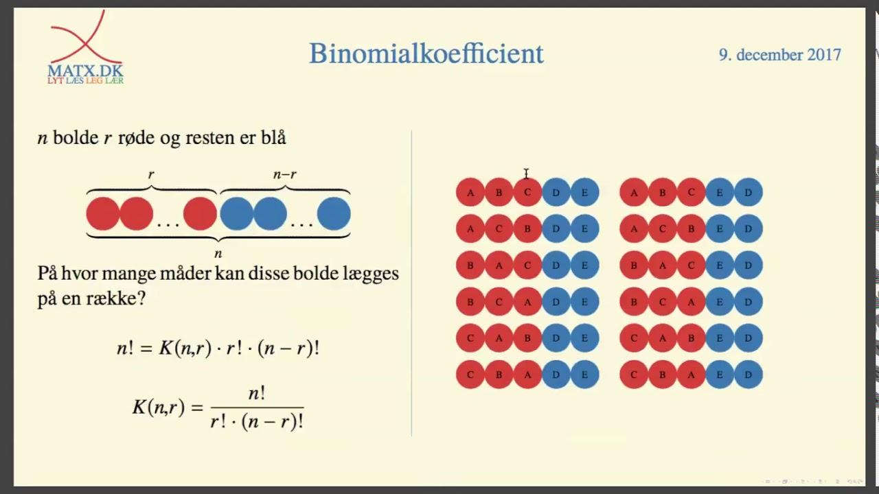 binomialkoefficient
