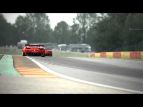 Assetto Corsa : Ferrari 458 GT2 LOUD ENGINE SOUND