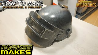 How to make PUBG Level 3 Helmet with foam board