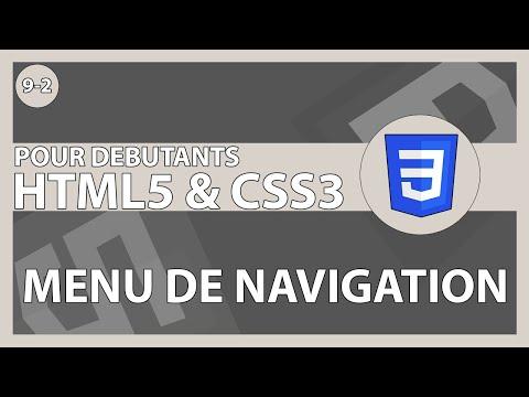 [#35] Création Des Fichiers Et De La Barre De Navigation Du Projet | HTML5/CSS3 Pour Les Débutants
