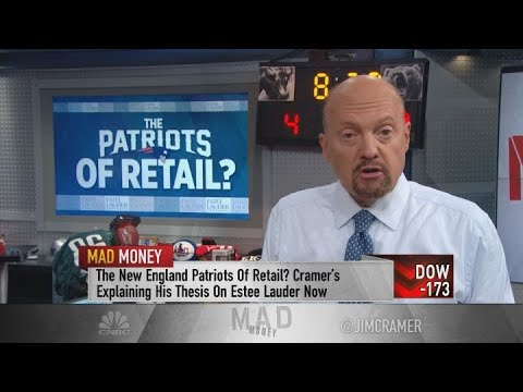 Estee Lauder the stock market equivalent of the New England Patriots, says Cramer