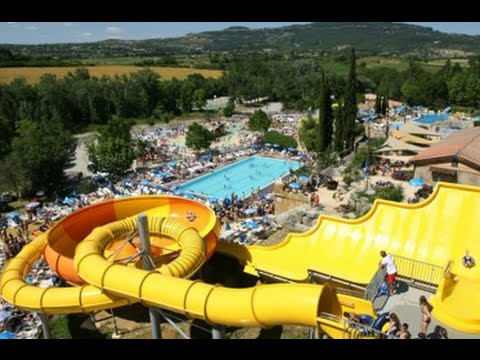 Camping le pommier 2015 parc aquatique youtube for Camping les issambres avec piscine