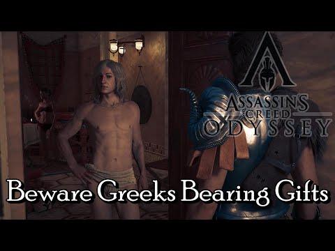 Assassins Creed Odyssey - Beware Greeks Bearing Gifts