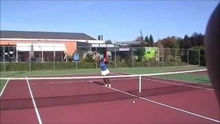 Studiebeurs VS Tennis College OverBoarder - Marie Aimee Habiayremye