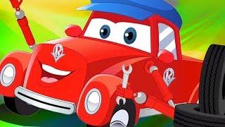 Cumplir Con La Mecánico | Super Coche Royce | Vídeos Animados Para Los Niños