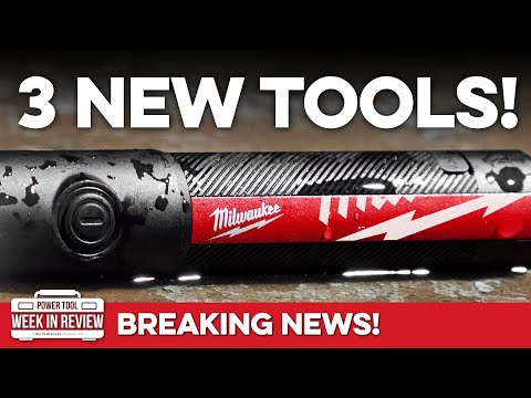 FINALLY 3 New Milwaukee Tools! Let's GO! - Belts and Boxes Power Tool Breaking News -