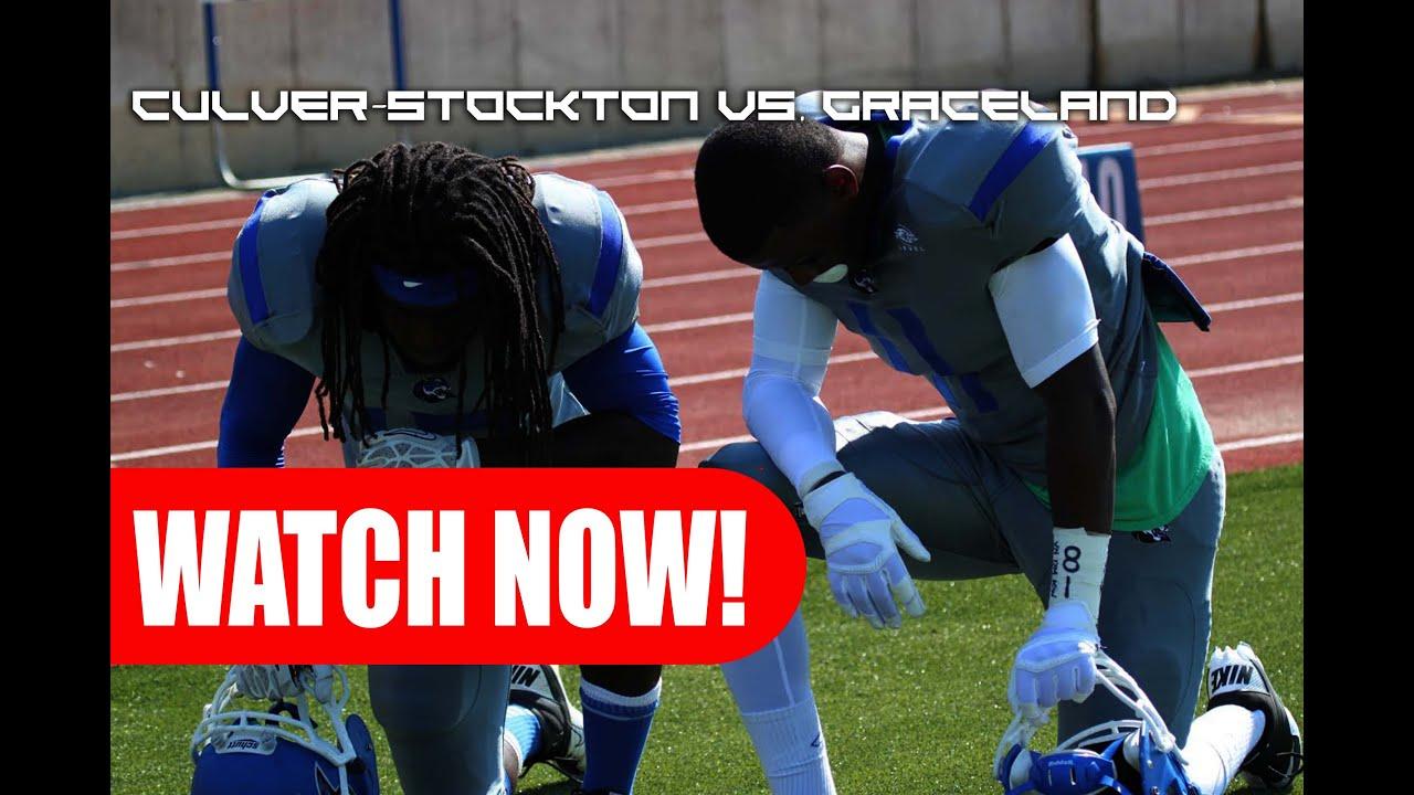 "Culver-Stockton Football vs. Graceland ""Desmond Phillips ..."