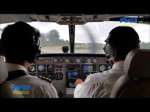 Cessna Grand Caravan. Secuencia de vuelo tramo Chaitén - Puerto Montt. VISTA INCREÍBLE.