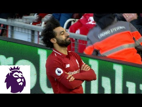 Firmino clever backheel to Salah 3-0 for Liverpool v. Bournemouth | Premier League | NBC Sports