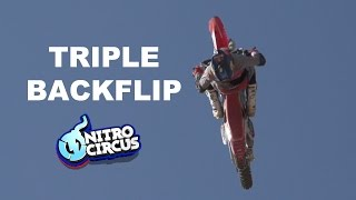 It\'s Coming - First Triple Backflip on a Motorcycle