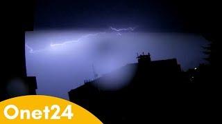 IMGW ostrzega przez burzami | Onet24