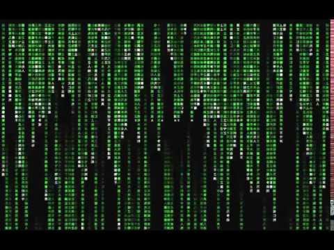 Falling Matrix Wallpaper Matrix Raining Code Digital Rain Example Generated By