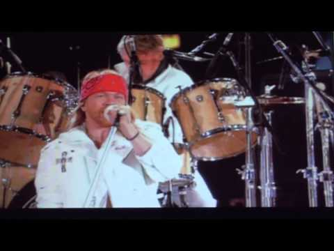 AXL ROSE + QUUEN ; WE WILL ROCK YOU…LIVE WEMBLEY NEW (HD))