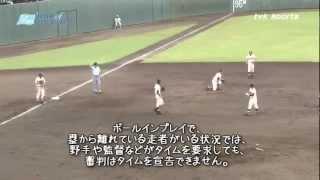 【高校野球】日大藤沢-武相のサヨナラのシーンをゆっくりで解説してみた thumbnail