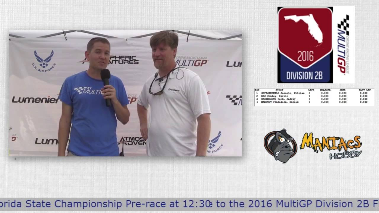 2016 MultiGP 2B Florida Finals Chris Thomas Talks about Horizon Hobby